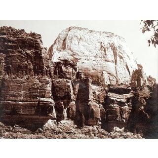 Lloyd M. Pyeatt Great White Throne, Mt. Zion National Park Photo