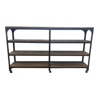 Anthropologie Industrial Modern Style Bookcase
