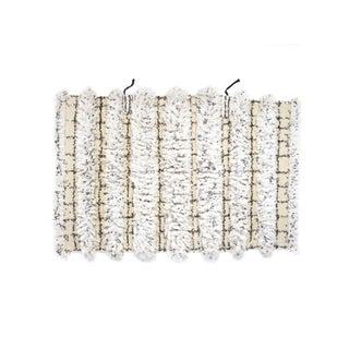 "Vintage Handira Wedding Blanket - 3'10"" x 5'10"""