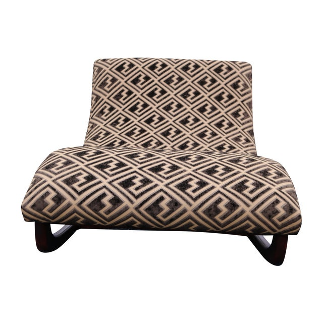 adrian pearsall rocking wave chaise chair chairish. Black Bedroom Furniture Sets. Home Design Ideas