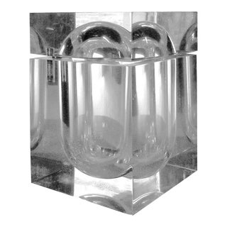 Alessandro Albrizzi Style Lucite Ice Bucket