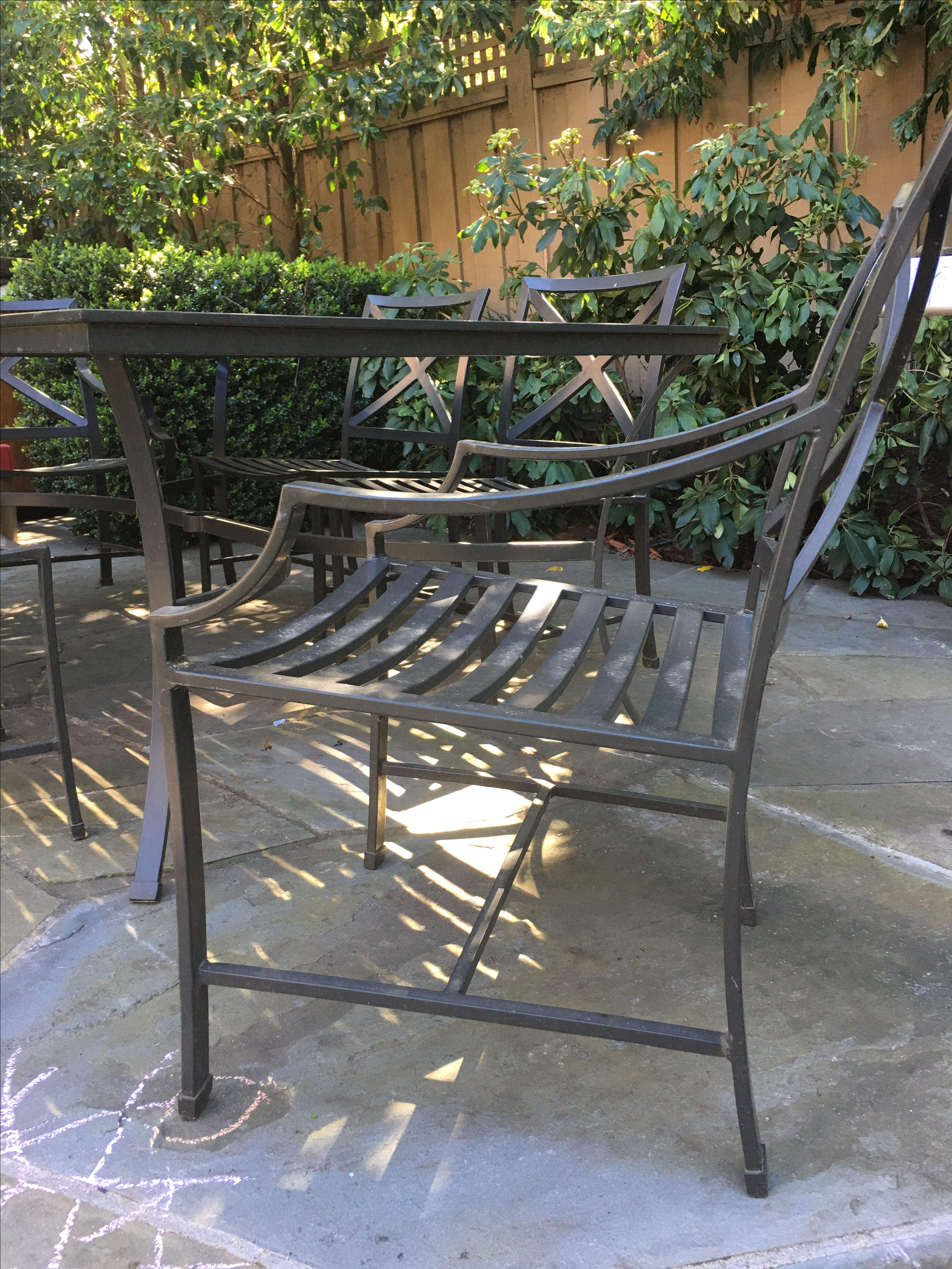 restoration hardware outdoor dining set gallery