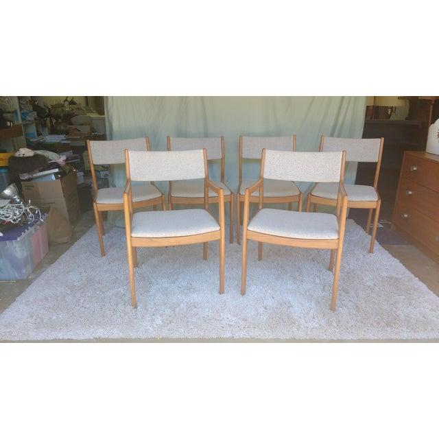 Image of D-Scan Vintage Teak Dining Chairs - Set of 6