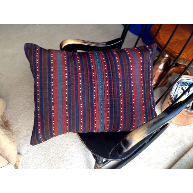 Decorative Anatolian Kilim Pillow - Image 5 of 8