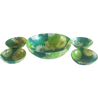 Mid Century Resin Bowl - Set of 3