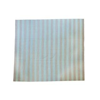 "New Striped Kilim Carpet - 9' X 10'1"""