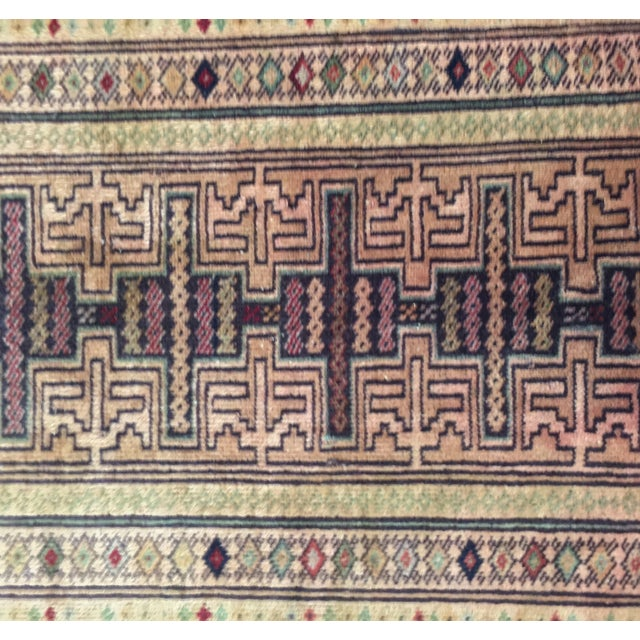 Turkaman Persian Rug - 1′11″ × 2′7″ - Image 4 of 7