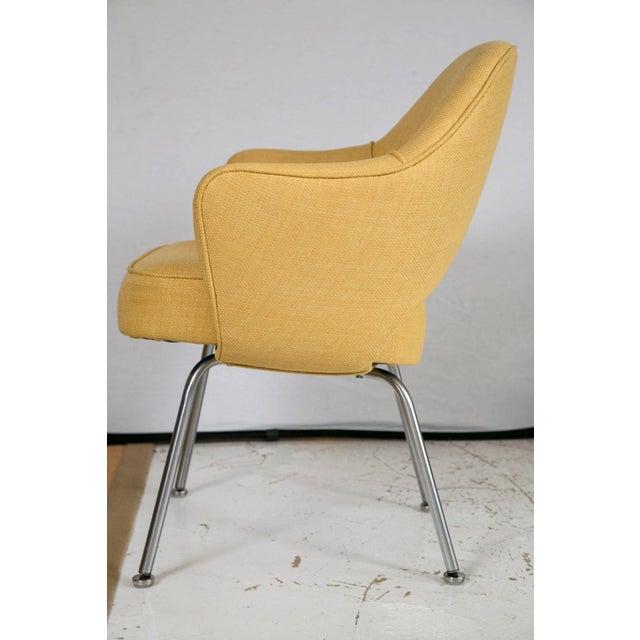 Saarinen Executive Armchair, Canary Yellow - Image 3 of 8