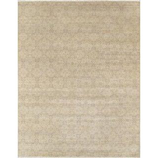 Pasargad Transitional Silk & Wool Rug - 9' X 12'