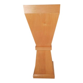 Tall Mid-Century Modern Pedestal Table