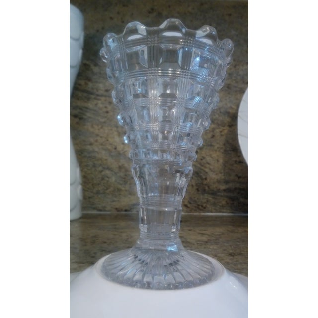 Art Deco Flared Glass Vase - Image 2 of 6