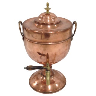 Vintage Copper Samovar