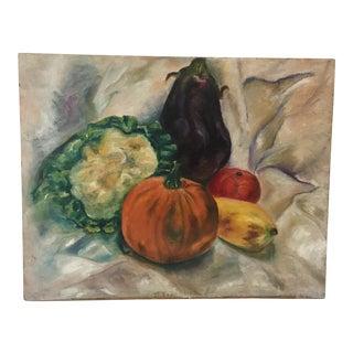 1960s Francis Graziani Vintage Original Oil Painting