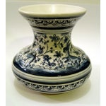 Image of Hand Painted Portugese Vase