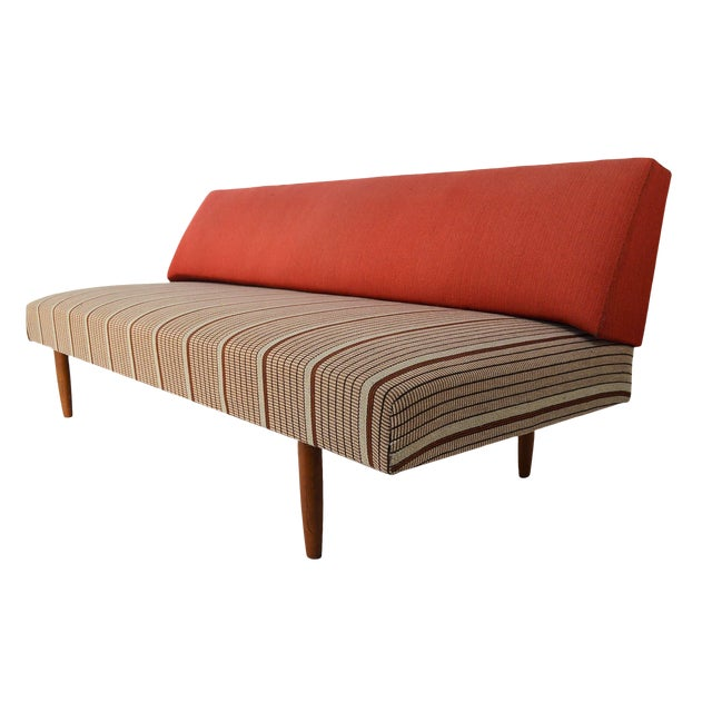 Mid Century Danish Modern Sofa / Daybed - Image 1 of 8