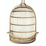 Image of Serena & Lily Hanging Rattan Chair