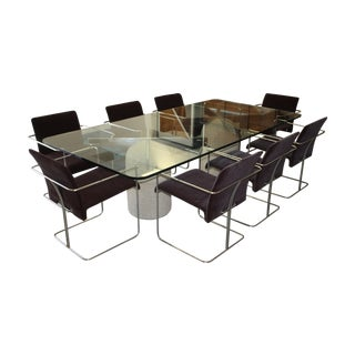 Giovanni Offredi for Saporiti Paracarro Dining Set