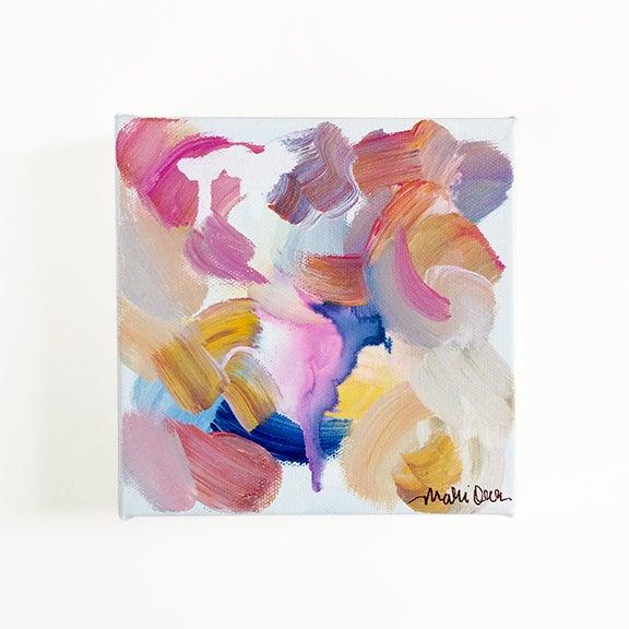 Caroline Original Abstract Painting - Image 2 of 4