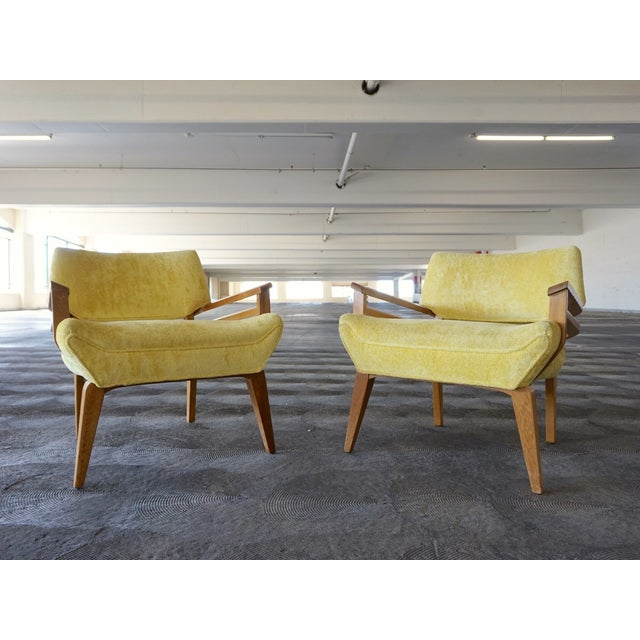 Paul Laszlo for Brown Saltman Lounge Chairs - Pair - Image 6 of 6
