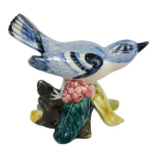Stangl Pottery Earthenware Bluejay Figurine