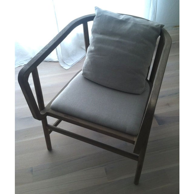 HD Buttercup Oak Club/ Dining Chair - Image 6 of 8