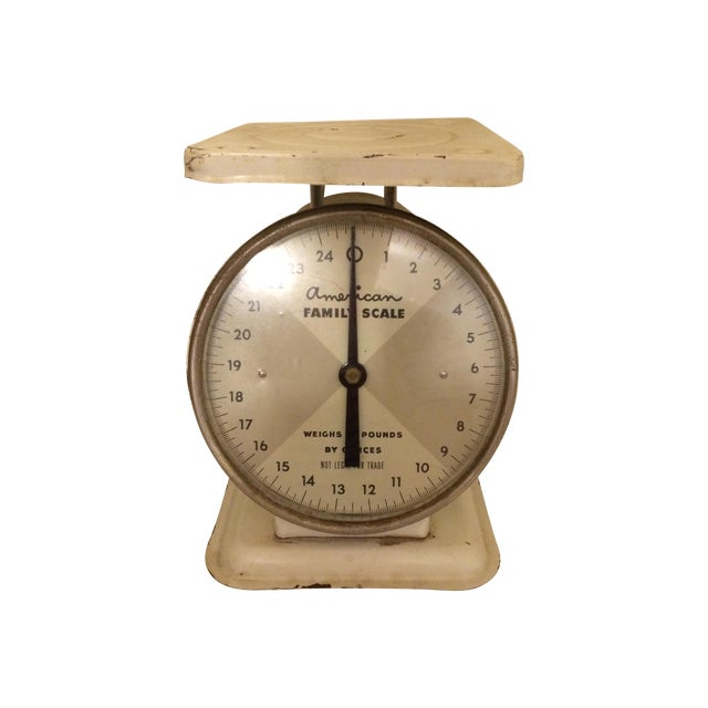 Image of Vintage American Family Kitchen Scale