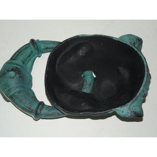 Verdigris Metal Lion's Head Ring - Image 4 of 7