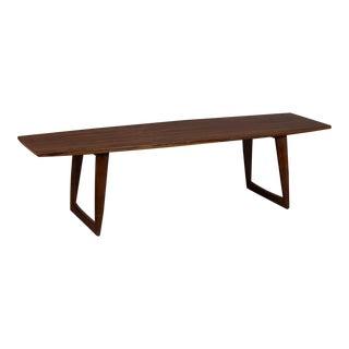Danish Modern Rosewood Surfboard Coffee Table