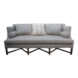 Kaare Klint Style Tan Sofa Model 4118