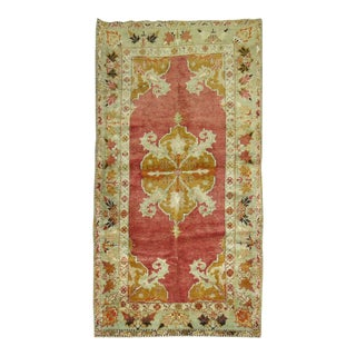Antique Turkish Melas Rug, 3' x 5'1''