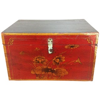 Hand Painted Storage Box