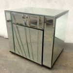 Image of Ello Mirrored Nightstands Side Tables - Pair