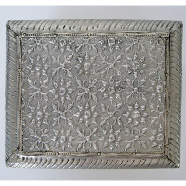 Vintage Embossed Keepsake Box - Image 5 of 8
