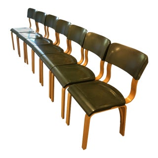 Thonet Mid-Century Bentwood Chairs - Set of 7