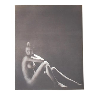 Vintage Silver Gelatin Nude Photograph C.1941