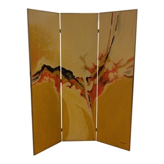 Tom Hayward Three Panel Screen