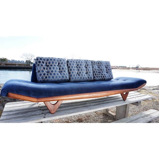 Mid-Century Modern Adrian Pearsall Gondola Sofa - Image 2 of 9