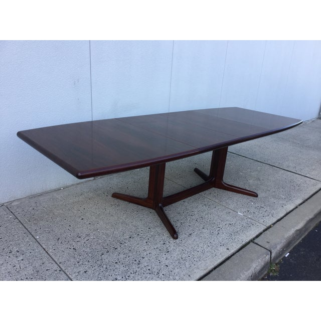 Massive Danish Rosewood Dining Table by Skovby - Image 2 of 11