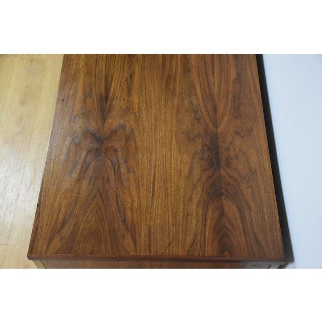 Walnut Executive Desk - Image 8 of 11