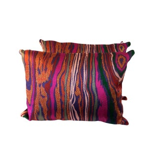 Colorful Boho Chic Pillows - A Pair