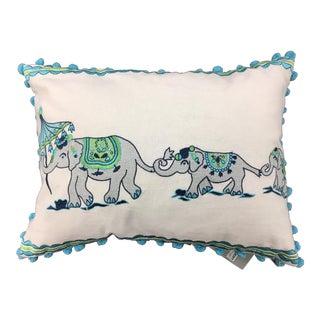 Bali Elephant Kim Seybert Pillow