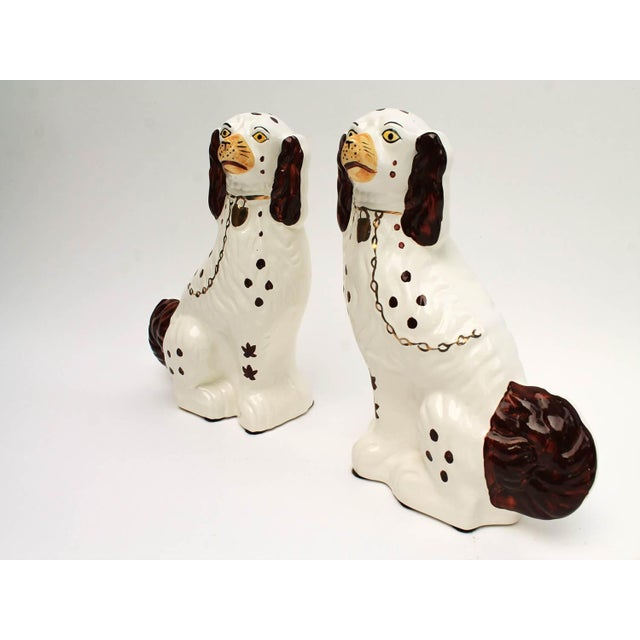 Staffordshire-Style Ceramic Dogs - A Pair - Image 3 of 4
