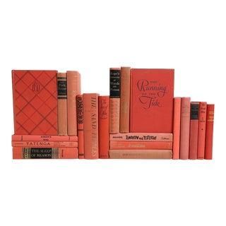 Mid Century Books: Salmon Selections - Set of 20
