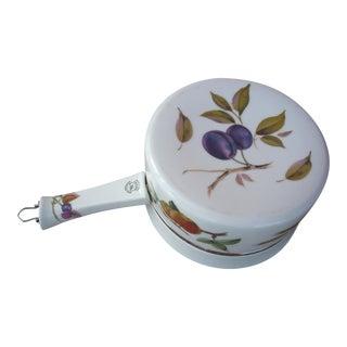 Royal Worcester Porcelain Saucepan