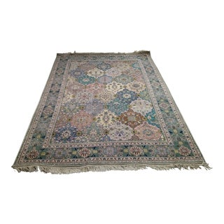 Indian Bakhtiari Carpet- 5′9″ × 8′9″