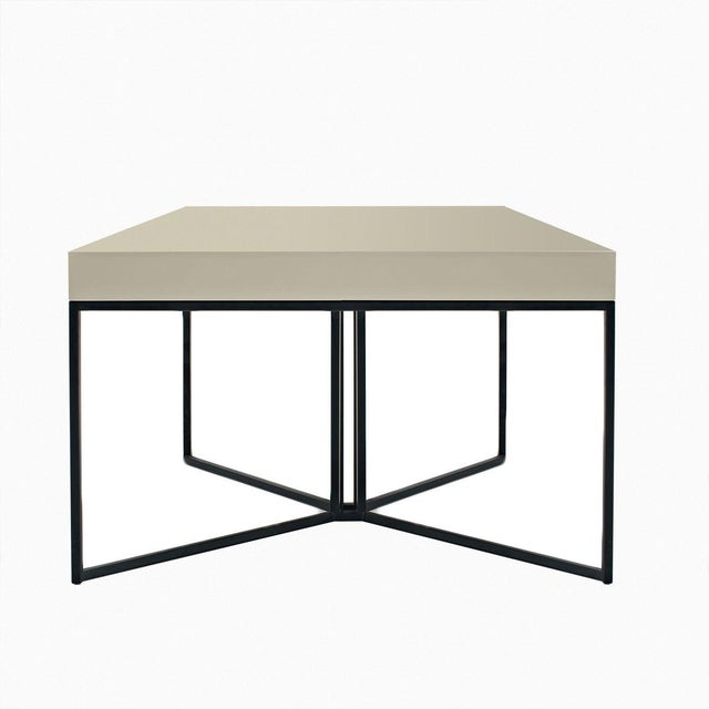 Image of Gray Contemporary Side Table