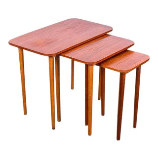 Danish Modern Nesting Tables