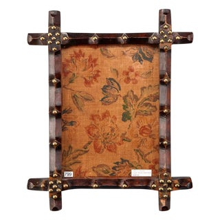 19th Century Small English Arts and Crafts Frame