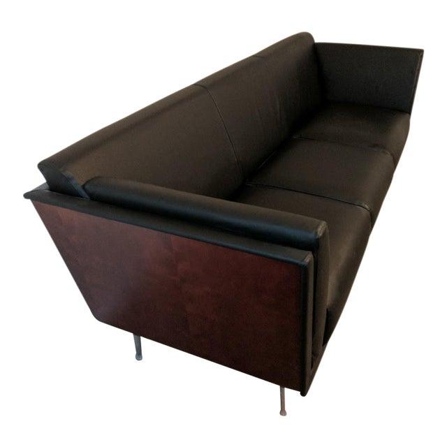 Herman Miller Goetz Leather Sofa - Image 1 of 3