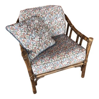 McGuire Rattan A-1 Lounge Chair